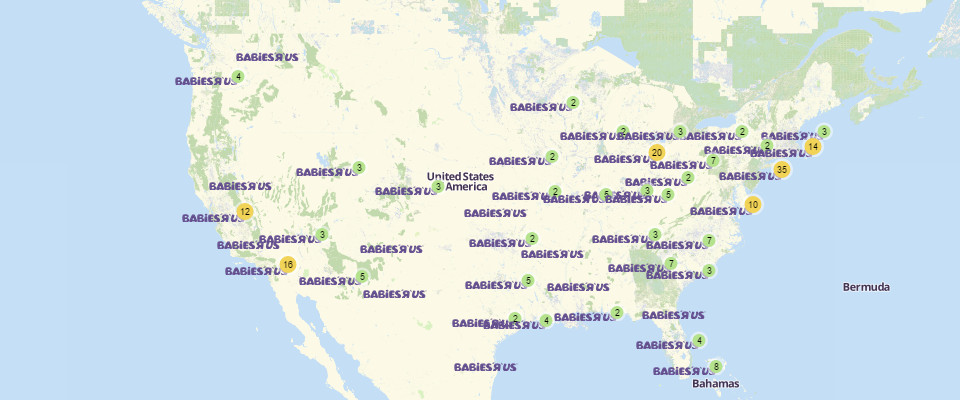 Select your city / state to quickly find Babies R Us Near Me. We have found a lot of locations related to Babies R Us Near and close to you with Babies R Us open Hours and Location details You can find them by selecting your state and then city from the list above or typing your nearest city name in search bar. Babies R Us Near Me. Below Data is related to Dallas Texas, You can select your.