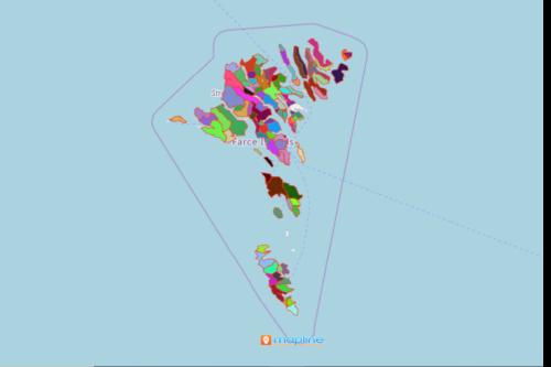 Mapping Faroe Islands Villages