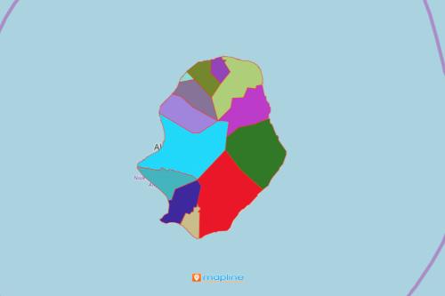 Niue Village Map