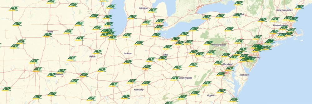 ABF Freight System locations