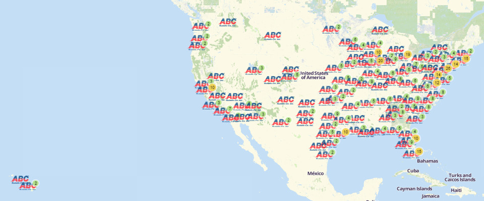 ABC Supply branch locations