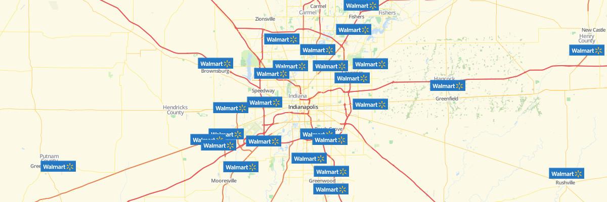 Walmart Locations Map All Walmart Store Locations In US Worldwide - Walmart us map