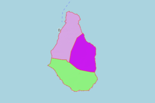 Mapping Montserrat Parishes