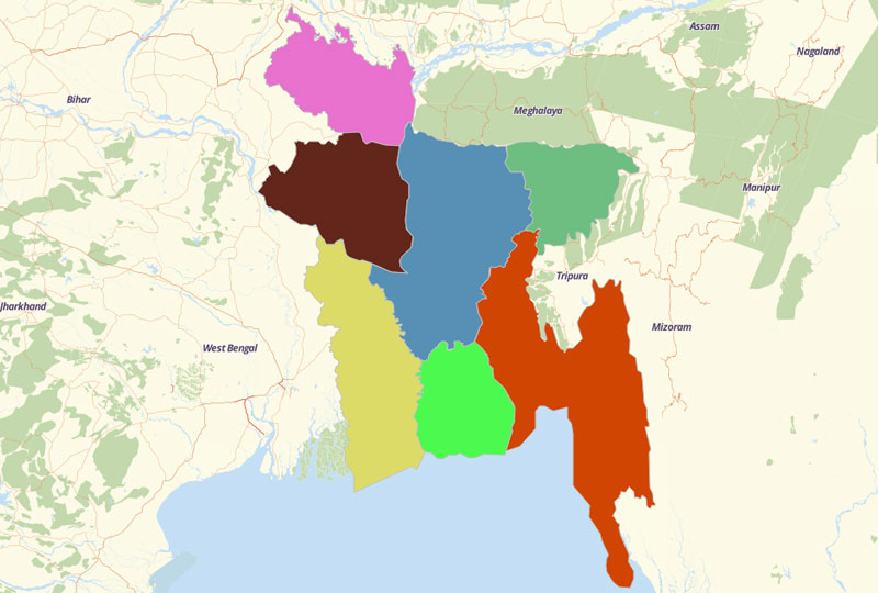 Bangladesh Territories