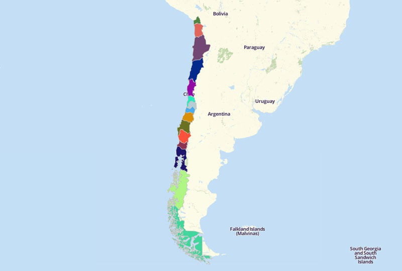 Chile Territories