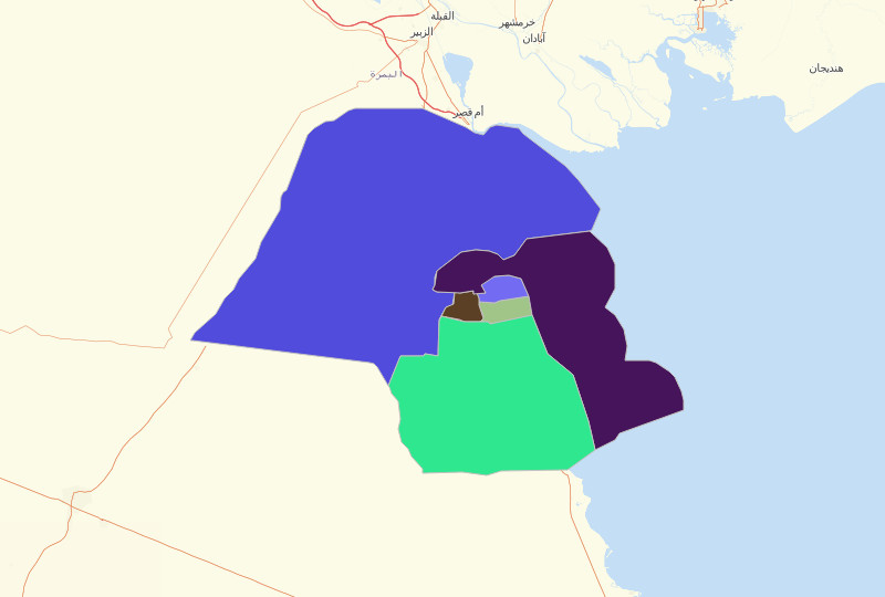 Kuwait Governorates