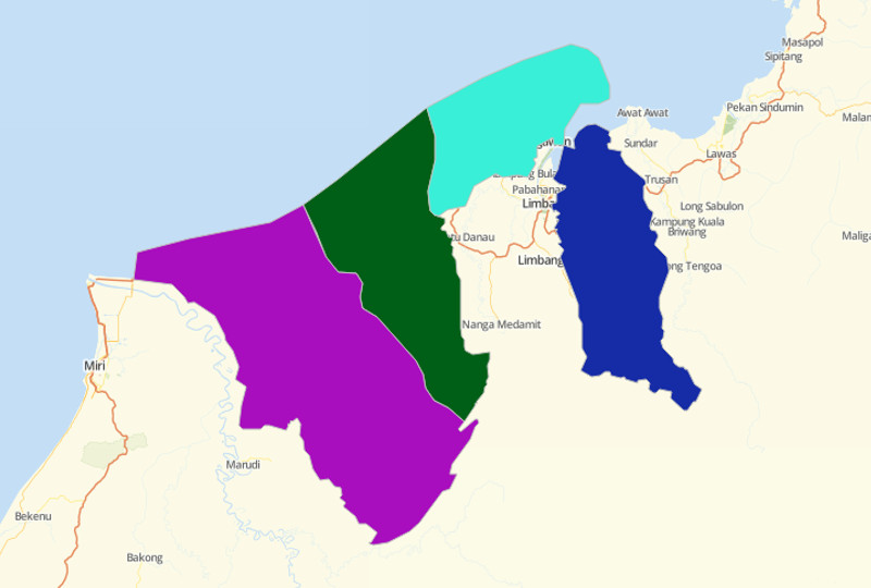 Brunei Districts
