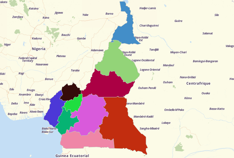 Cameroon Territories