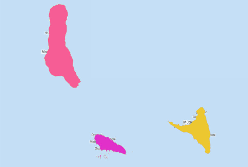 Comoros Territories