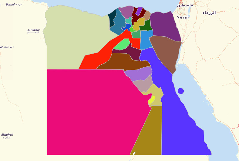 Egypt Territories