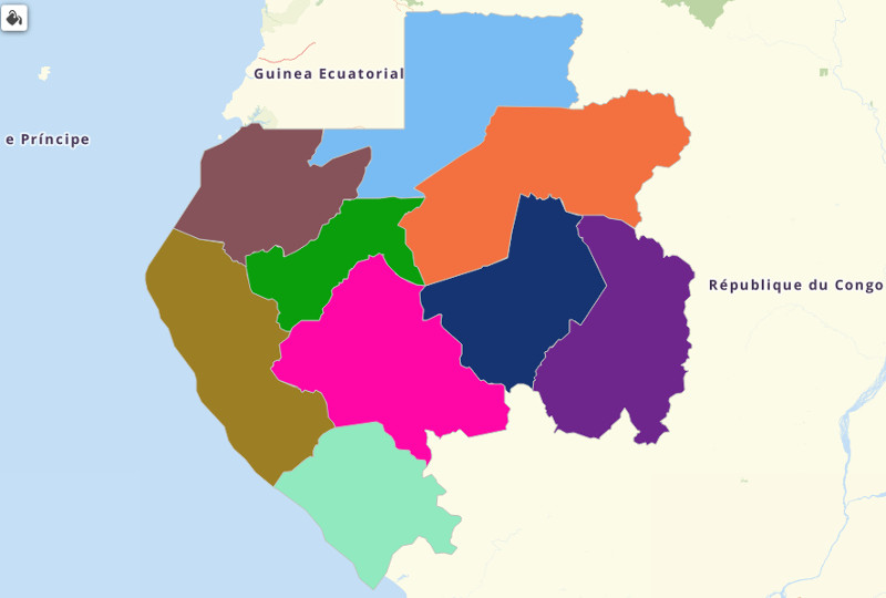 Gabon Territories