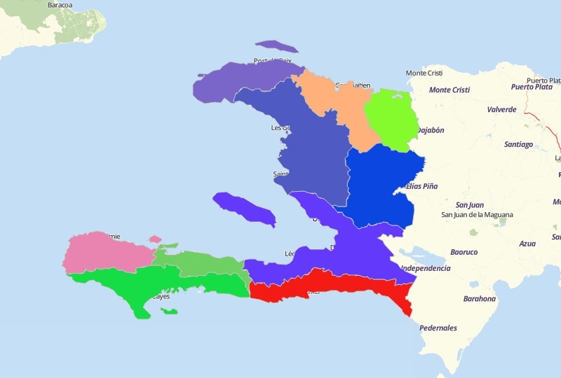 Haiti Territories