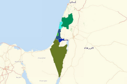 Israel Districts