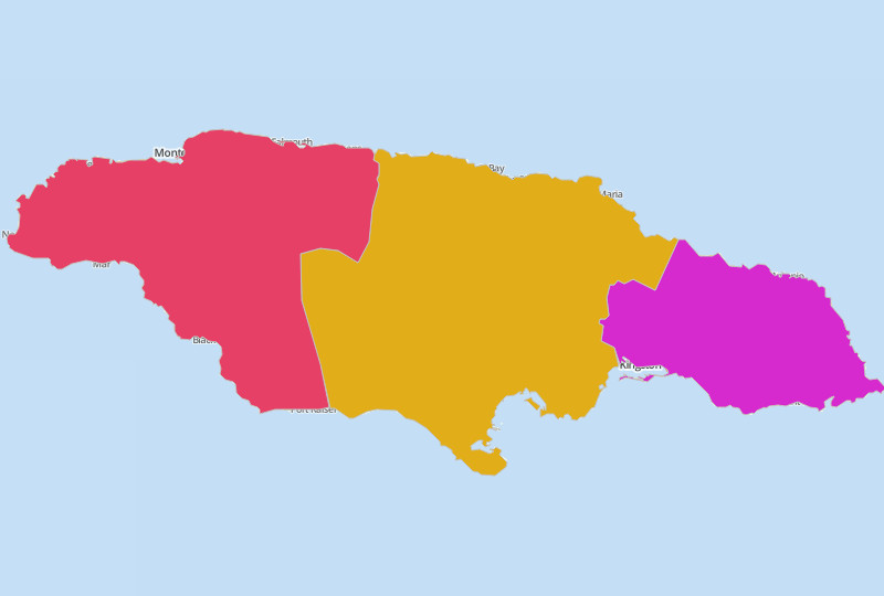 Jamaica Territories