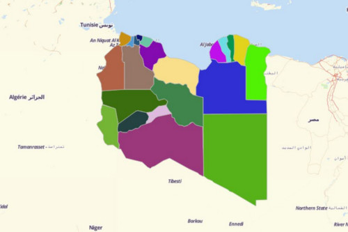 Libya Districts
