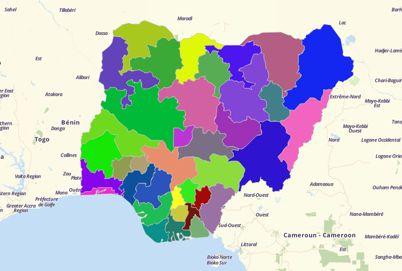 Nigeria Territories