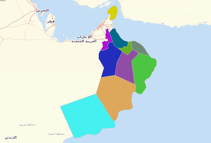 Oman Territories