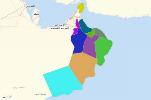 Oman Governorates