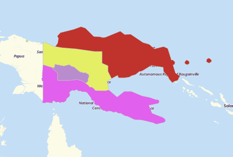 Papua New Guinea Territories