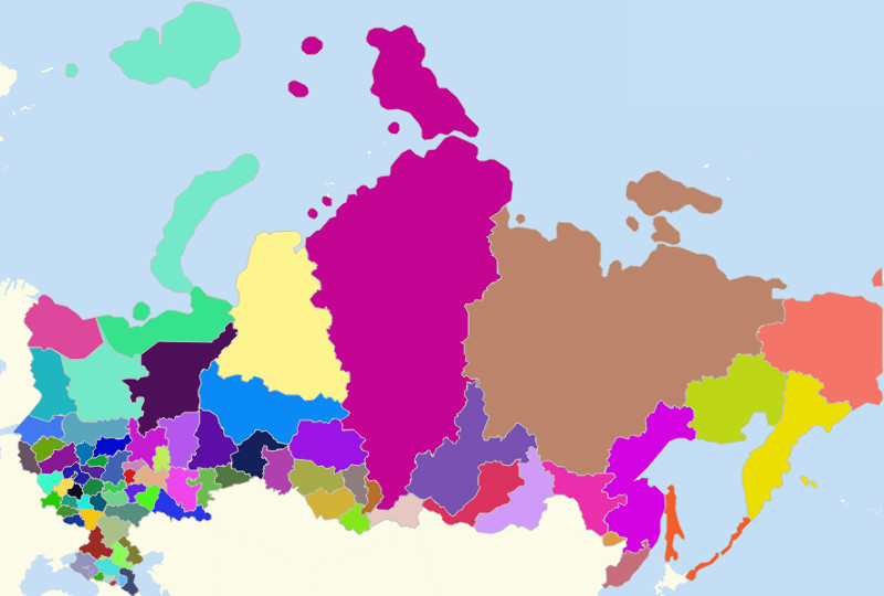 Russia Territories
