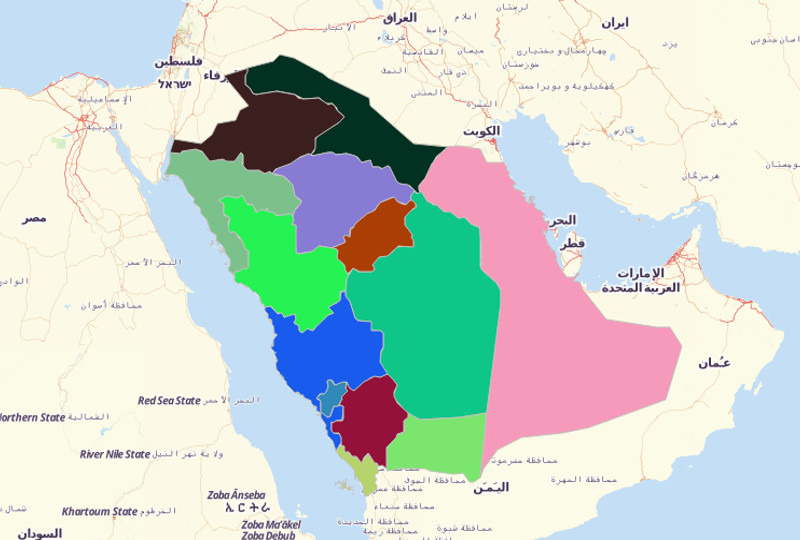 Saudi Arabia Territories