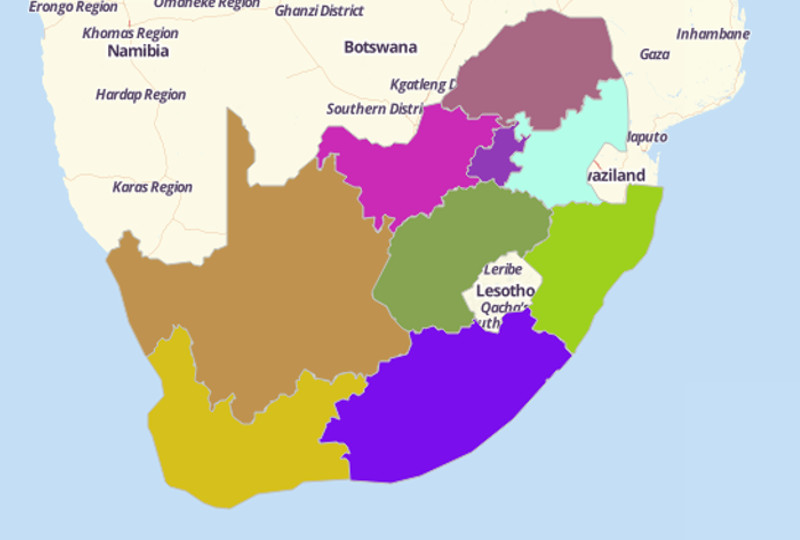 South African Provinces