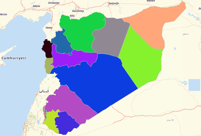 Syria Territories