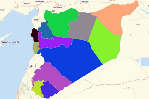 Syria Governorates