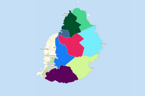 Mauritius Districts