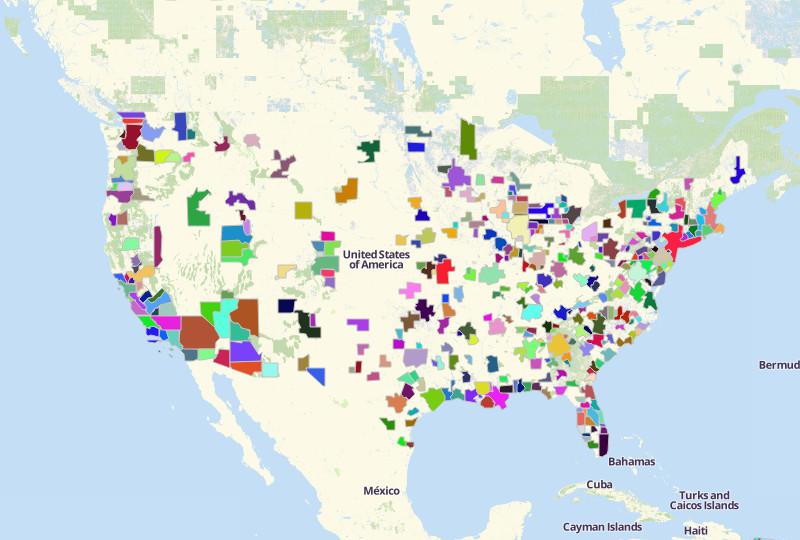 Cuba And Us Map Globalinterco - Us map pics