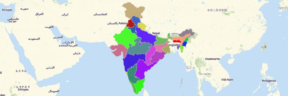 India States Map