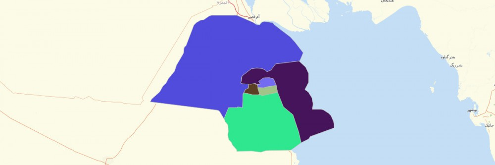 Kuwait Governorates Map