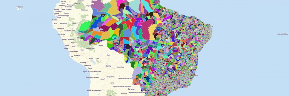 Map of Brazil Cities