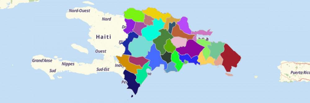 Map of Dominican Republic Provinces