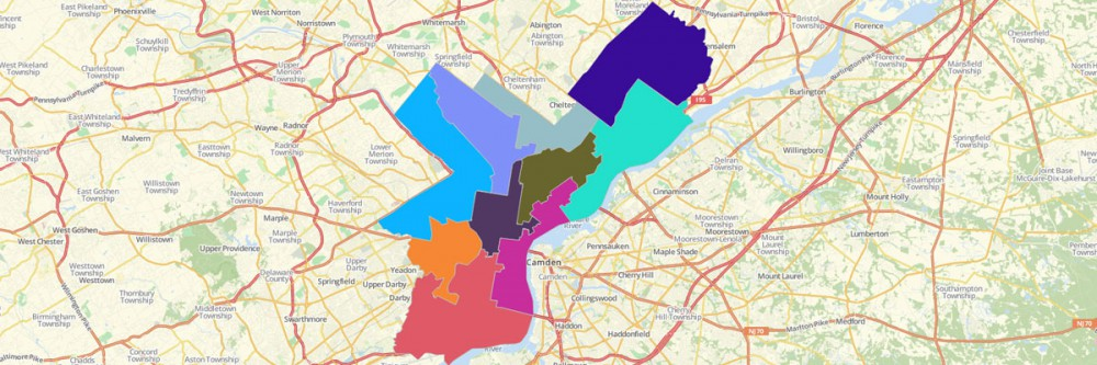 Philadelphia Council District Map