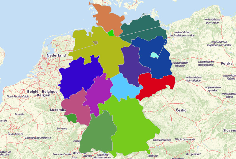 Germany Territories